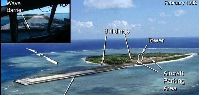 碧礁建飞机跑道