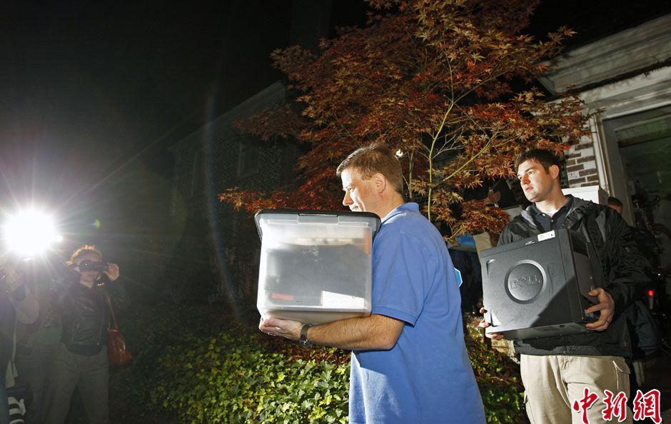 夏洛特/当地时间11月12日,美国北卡罗莱纳州夏洛特,美国联邦调查局...