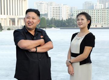 朝鲜居民生活照