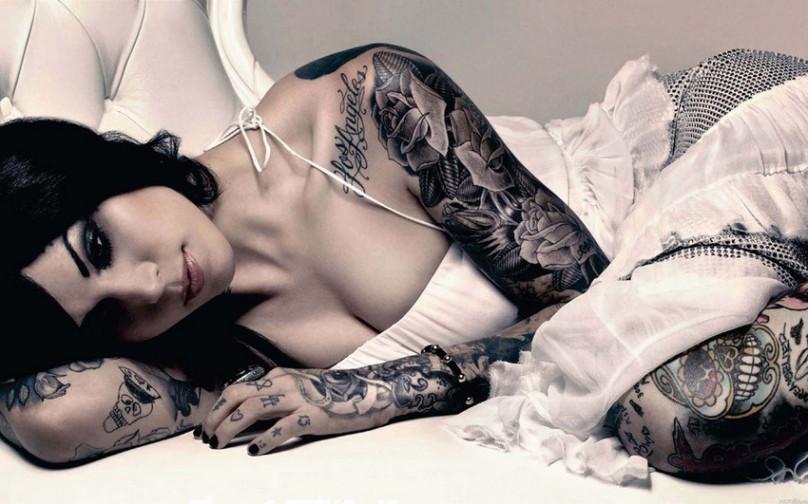 极致尤物的美丽纹身图片