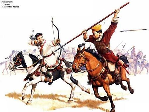 外国杂志上的中国古代战争场面(组图)