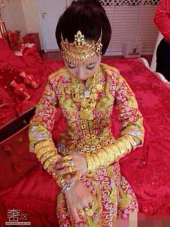 丈母娘算什么 看看小伙伴们惊呆的土豪婚礼