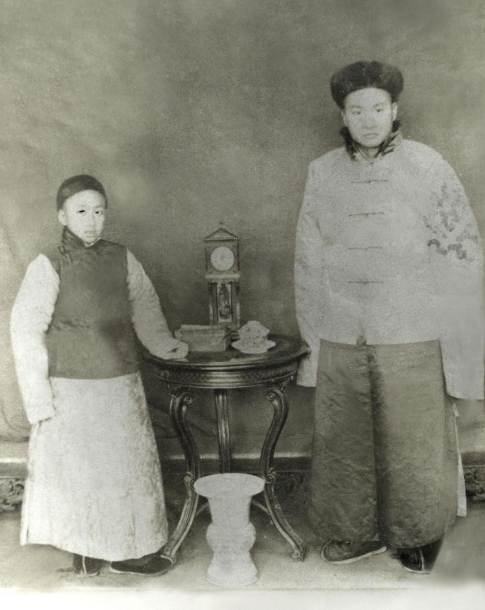 揭秘《梁漱溟日记》首度公开的私家照(组图)