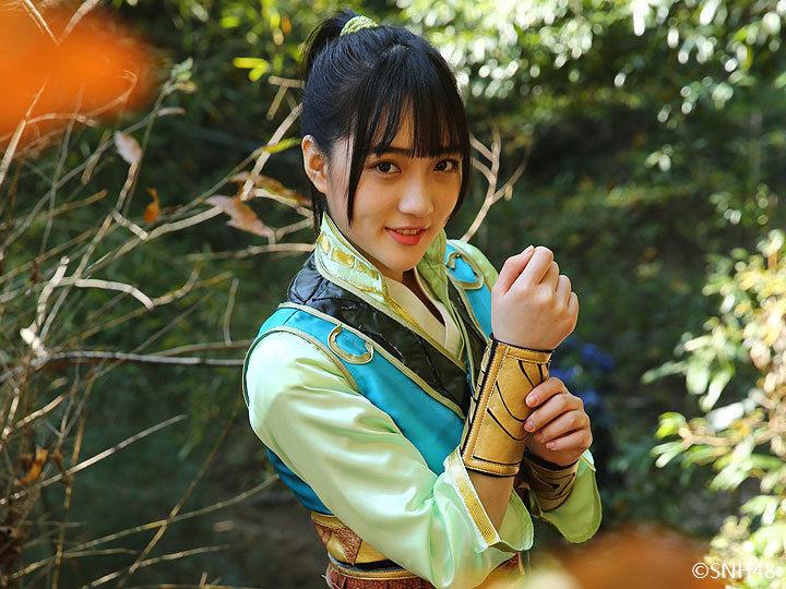 嫩模代言游戏 被日媒评为中国第一美女 科技