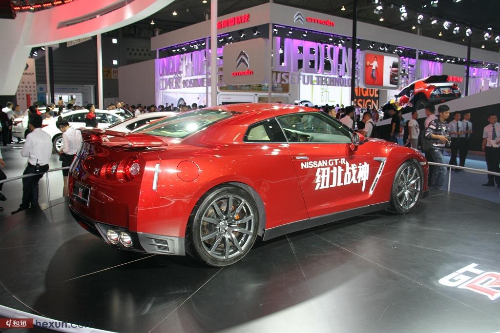 2015成都车展日产GT-R实拍